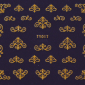 5723 ty017 gold 85x85 - ABȚIBILD UNGHII - TY017 - GOLD